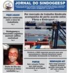 Jornal Sindogeesp<br>Jul/Jun/Ago 2017